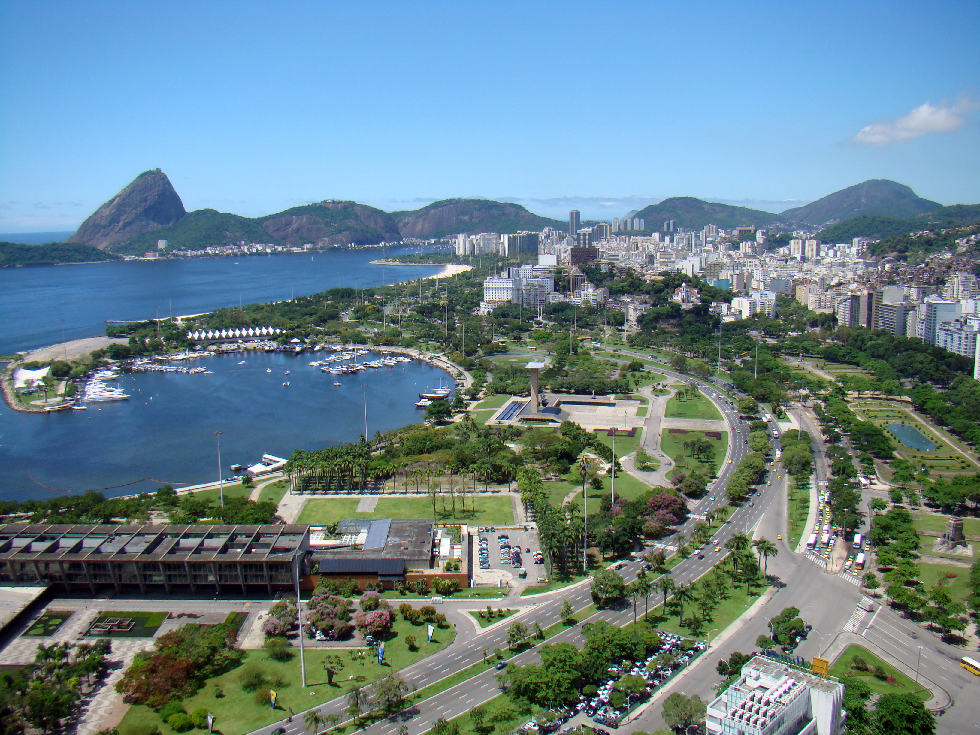 Vista do Parque do Flamengo